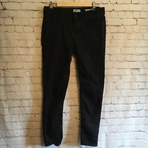 Kensie effortless ankle black jeans